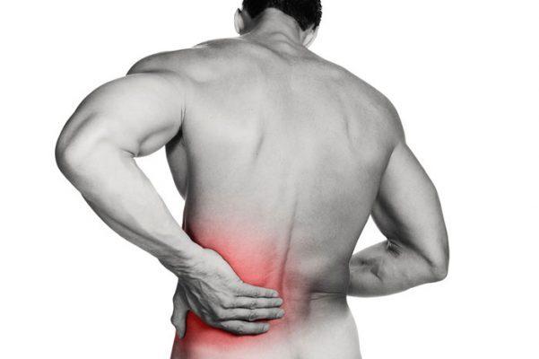 گرفتگی عضلات کمر